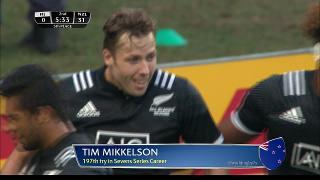 Try, Tim Mikkelson, Fiji vs NEW ZEALAND