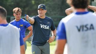 Argentina XV coach Felipe Contepomi