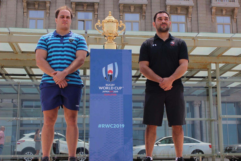 Uruguay v Canada captains
