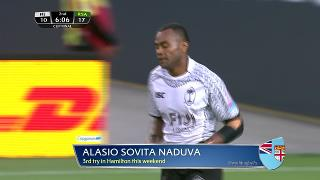 Try, Alasio Sovita Naduva - FIJI vs South Africa