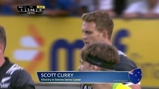 Try, Scott Curry, NEW ZEALAND vs Australia