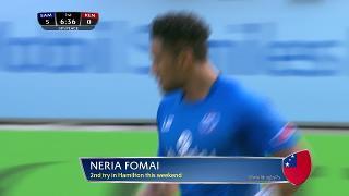 Try, Neria Fomai, SAMOA vs Kenya