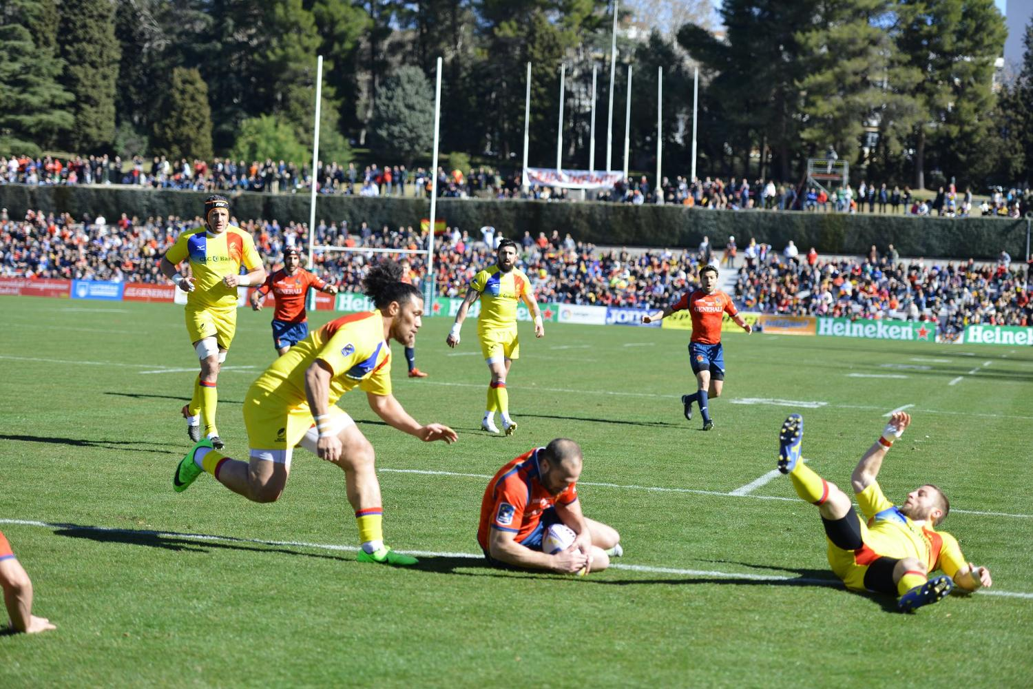 Rugby Europe Championship 2018: Spain v Romania