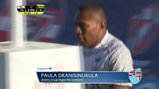 Try, Paula Dranisinukula, FIJI v South Africa