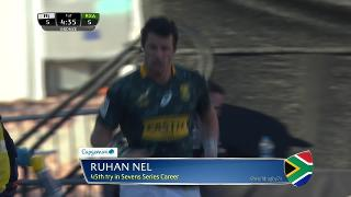 Try, Ruhan Nel, SOUTH AFRICA v Fiji
