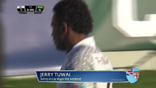 Try, Jerry Tuwai, FIJI v South Africa