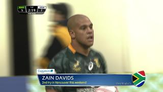 Try, Zain Davids, SOUTH AFRICA vs Usa