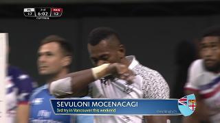 Try, Sevuloni Mocenacagi, FIJI vs Kenya