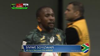 Try, Siviwe Soyizwapi, SOUTH AFRICA vs Usa