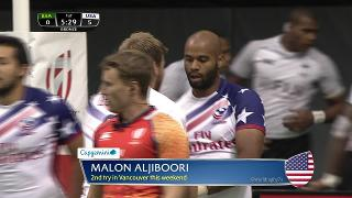 Try, Malon Aljiboori, South Africa vs USA