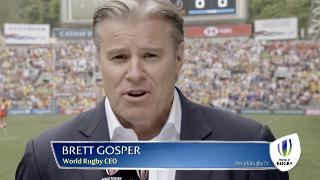 World Rugby CEO Brett Gosper