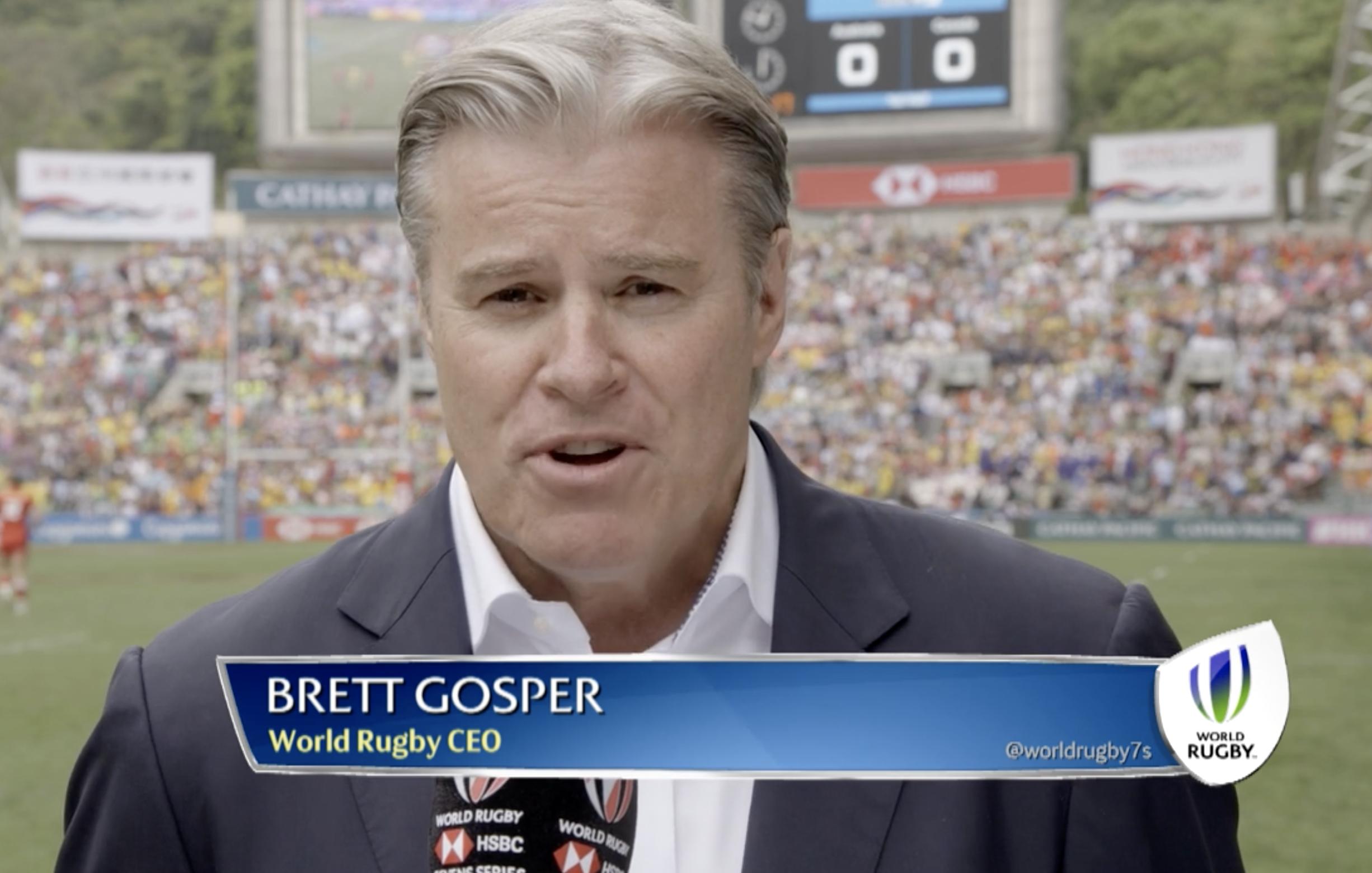 100 Days To Go: Brett Gosper looking forward to groundbreaking
