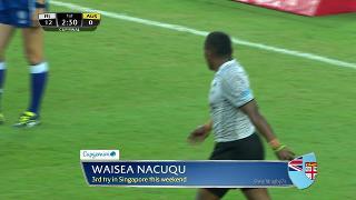 Try, Waisea Nacuqu, FIJI vs Australia