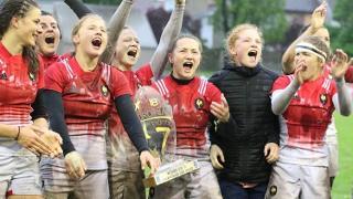 Rugby Europe U18 girls sevens championship 2018: trophy lift