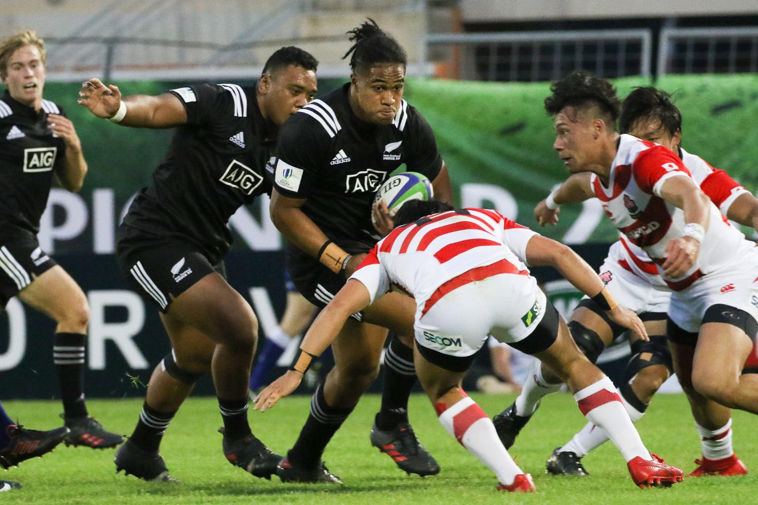 World Rugby U20 Championship 2018: New Zealand v Japan