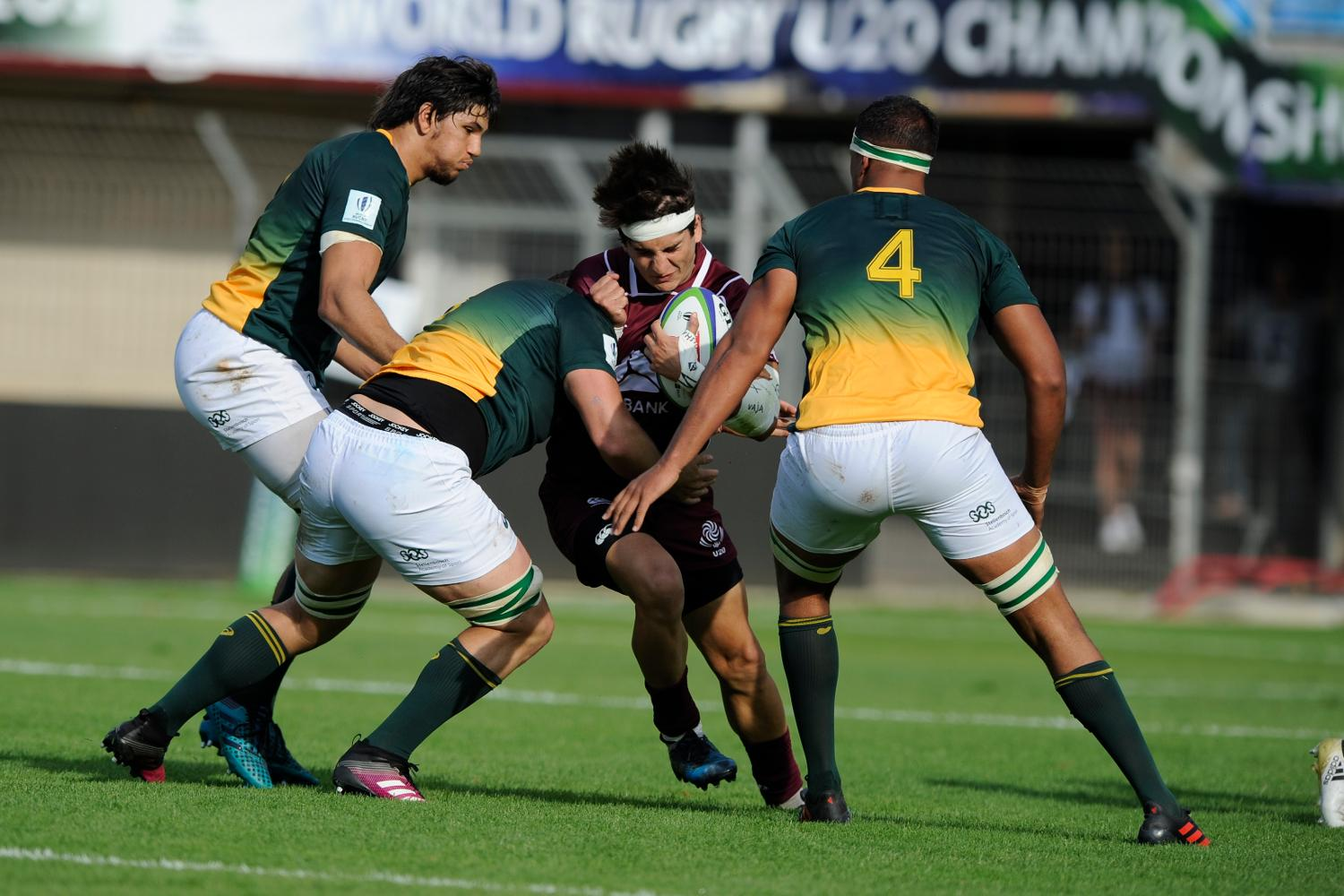 World Rugby U20 Championship 2018: South Africa v Georgia