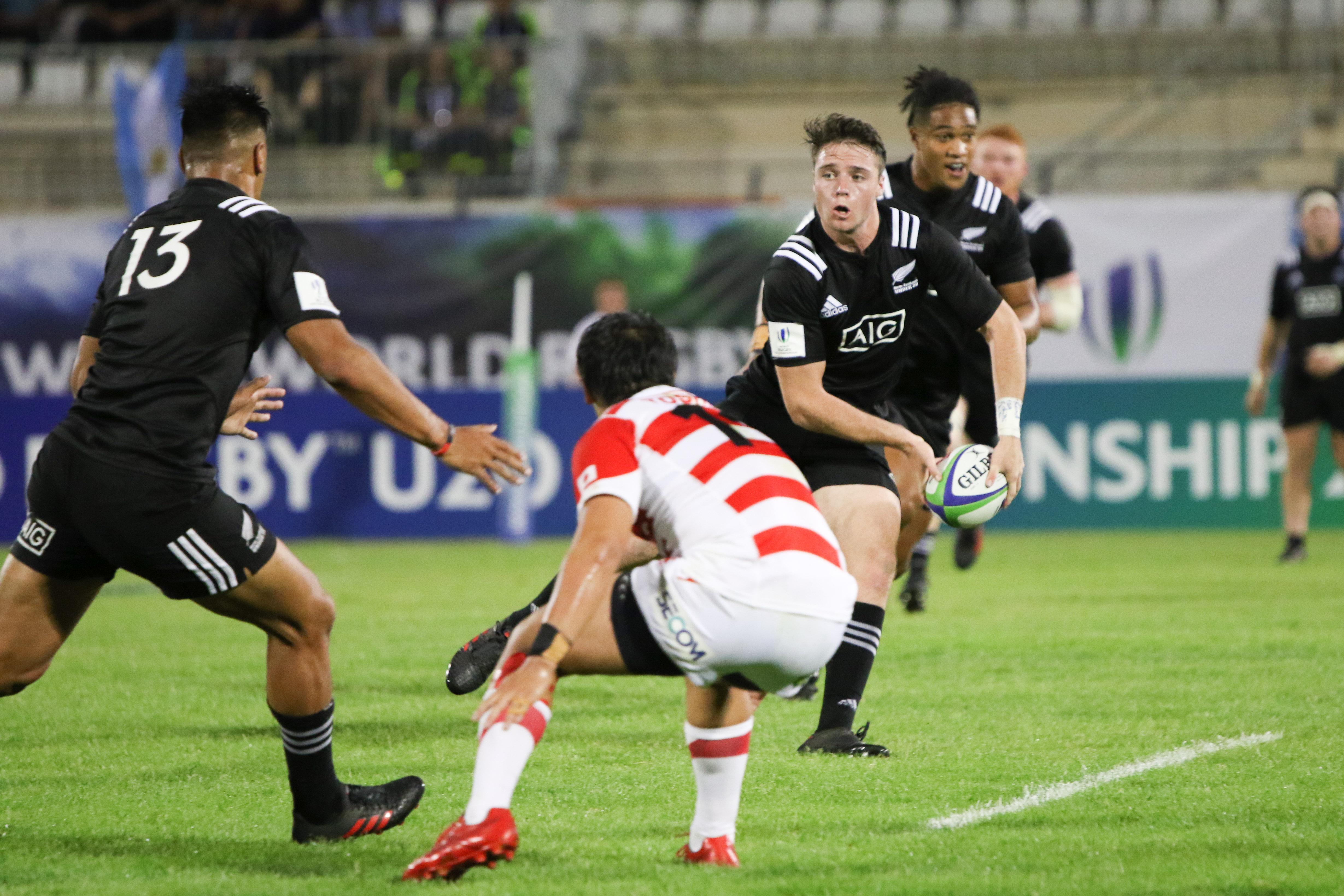 World Rugby U20 Highlights: New Zealand v Japan
