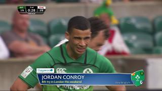 Try, Jordan Conroy, IRELAND v England