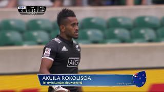 Try, Akuila Rokolisoa, United States v NEW ZEALAND