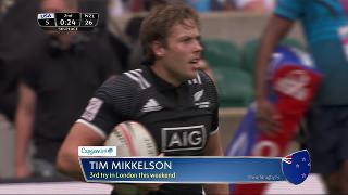Try, Tim Mikkelson, United States v NEW ZEALAND
