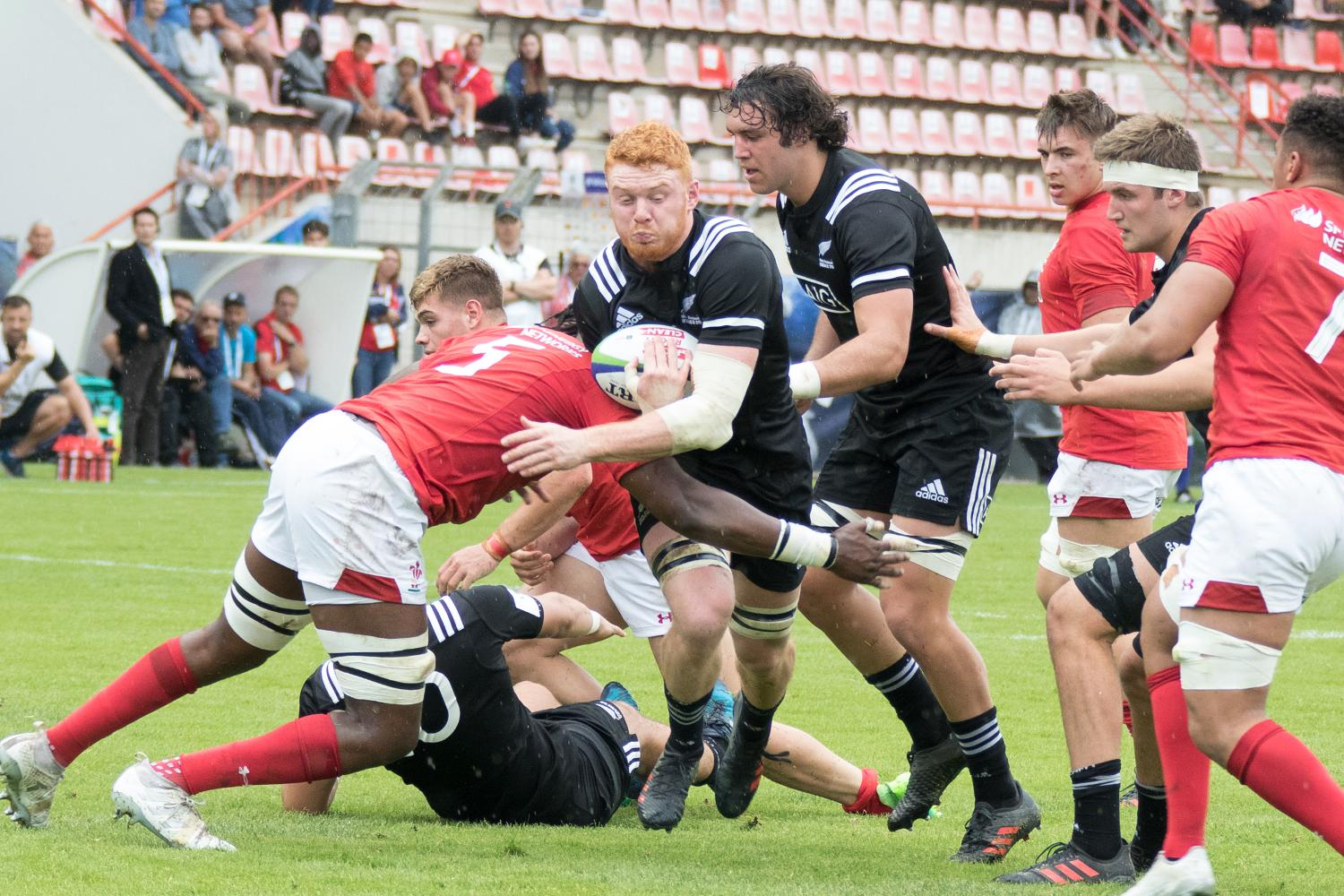 World Rugby U20 Championship 2018: New Zealand v Wales