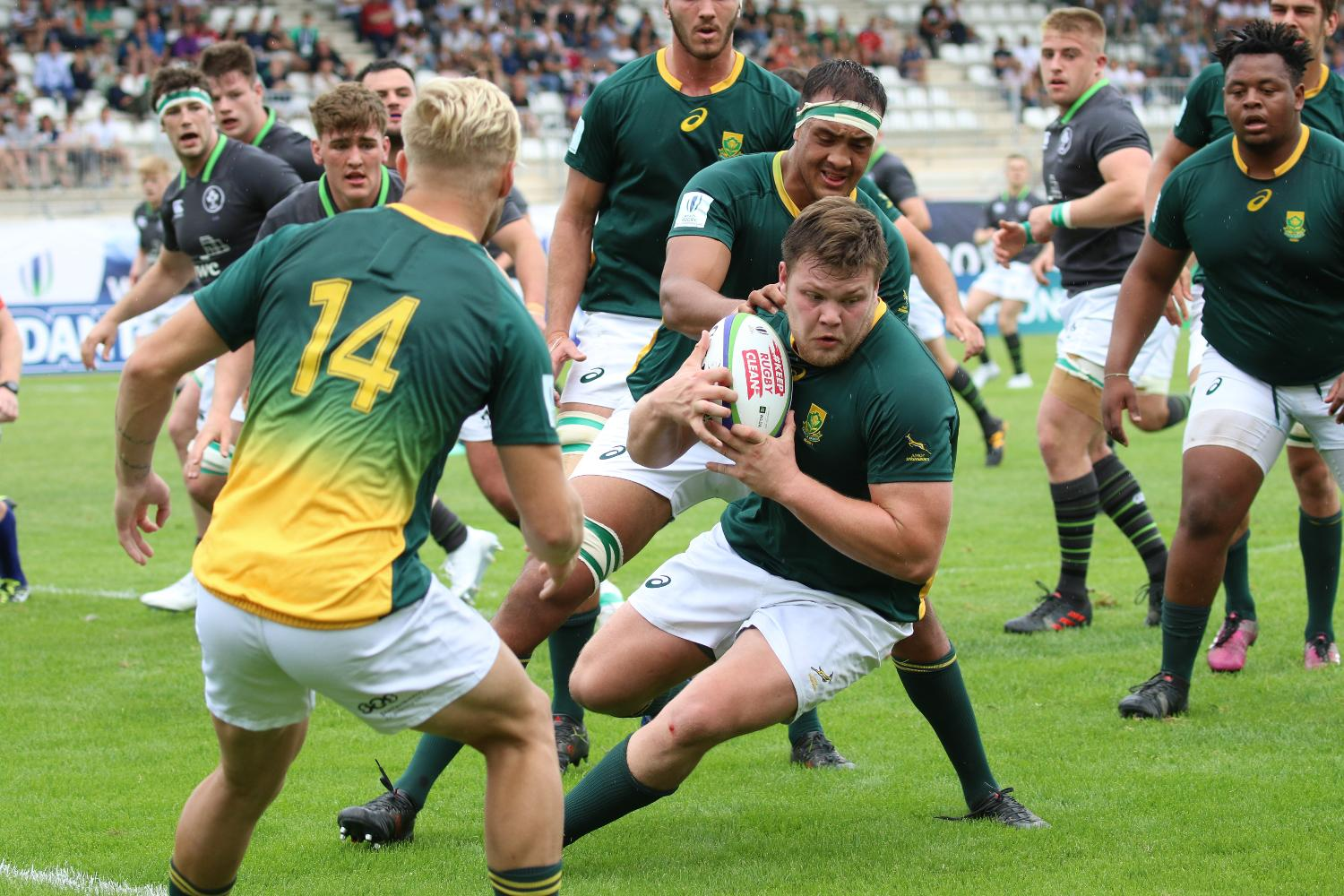World Rugby U20 Championship 2018: South Africa v Ireland