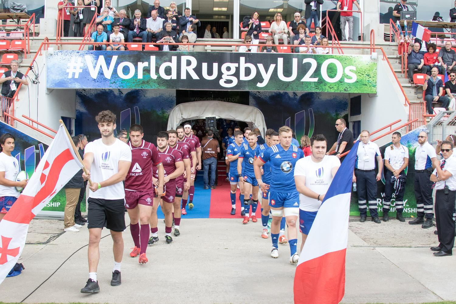 World Rugby U20 Championship 2018: France v Georgia