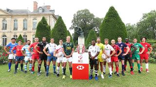 HSBC Paris Sevens 2018 - Captain's Photo