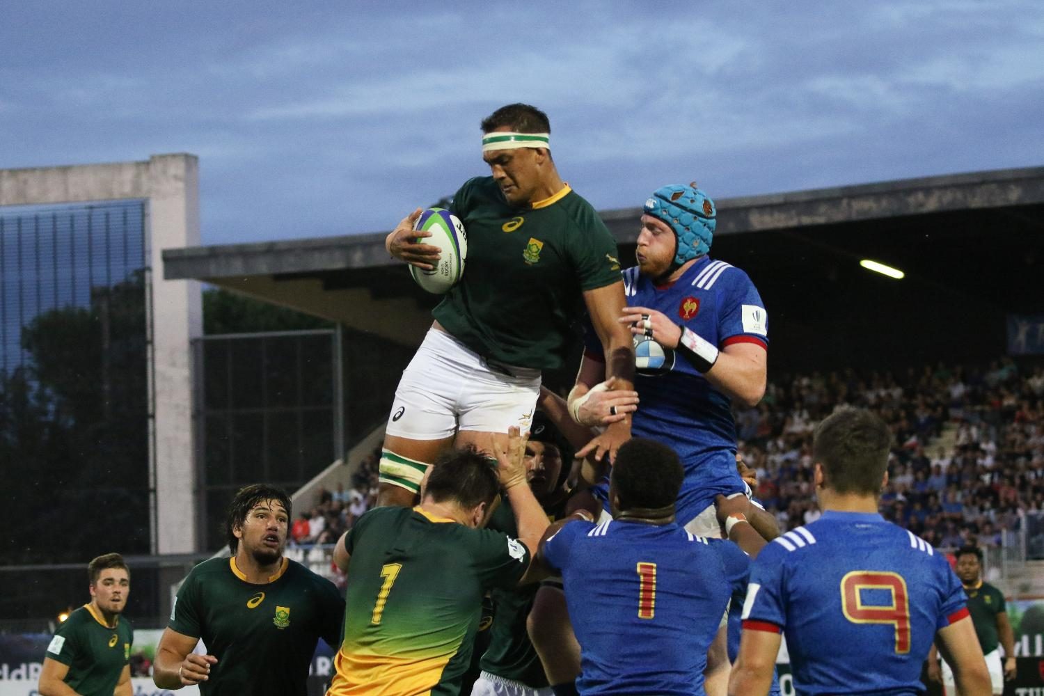 World Rugby U20 Championship 2018: South Africa v France
