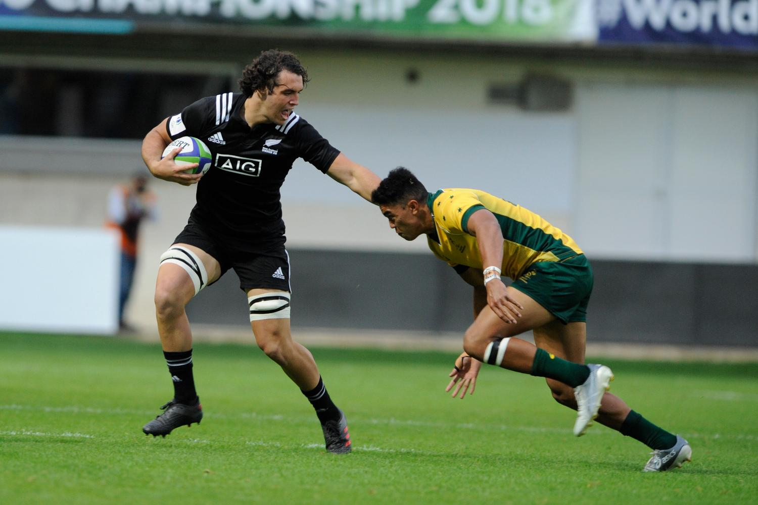 World Rugby U20 Championship 2018: New Zealand v Australia