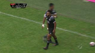 Try, Jona Nareki, Canada v NEW ZEALAND