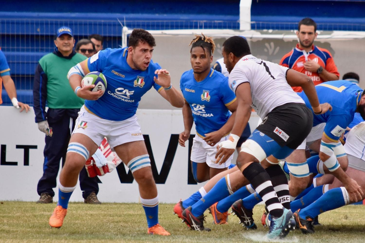 World Rugby Nations Cup 2018: Emerging Italy v Fiji Warriors