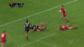 Try, Bailey Simonsson, Canada v NEW ZEALAND
