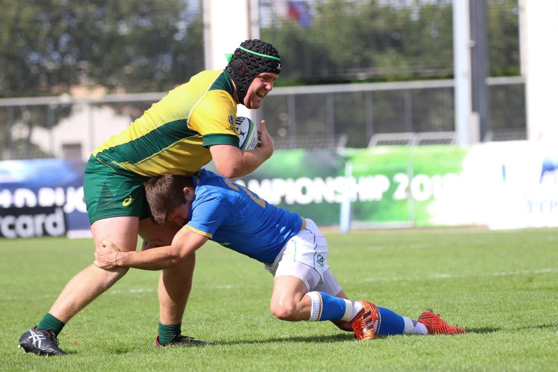World Rugby U20 Championship 2018: Italy v Australia
