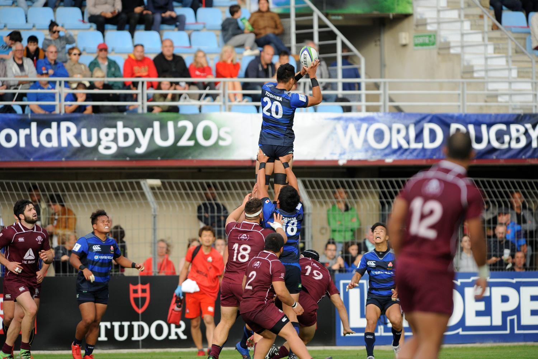 World Rugby U20 ChampionshIp 2018: Georgia v Japan