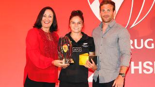 Michaela Blyde wins DHL Impact Player Award for series
