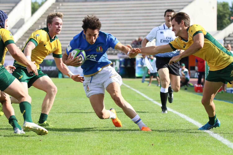U20 Championship 2018 day 4: ITA U20 v AUS u20