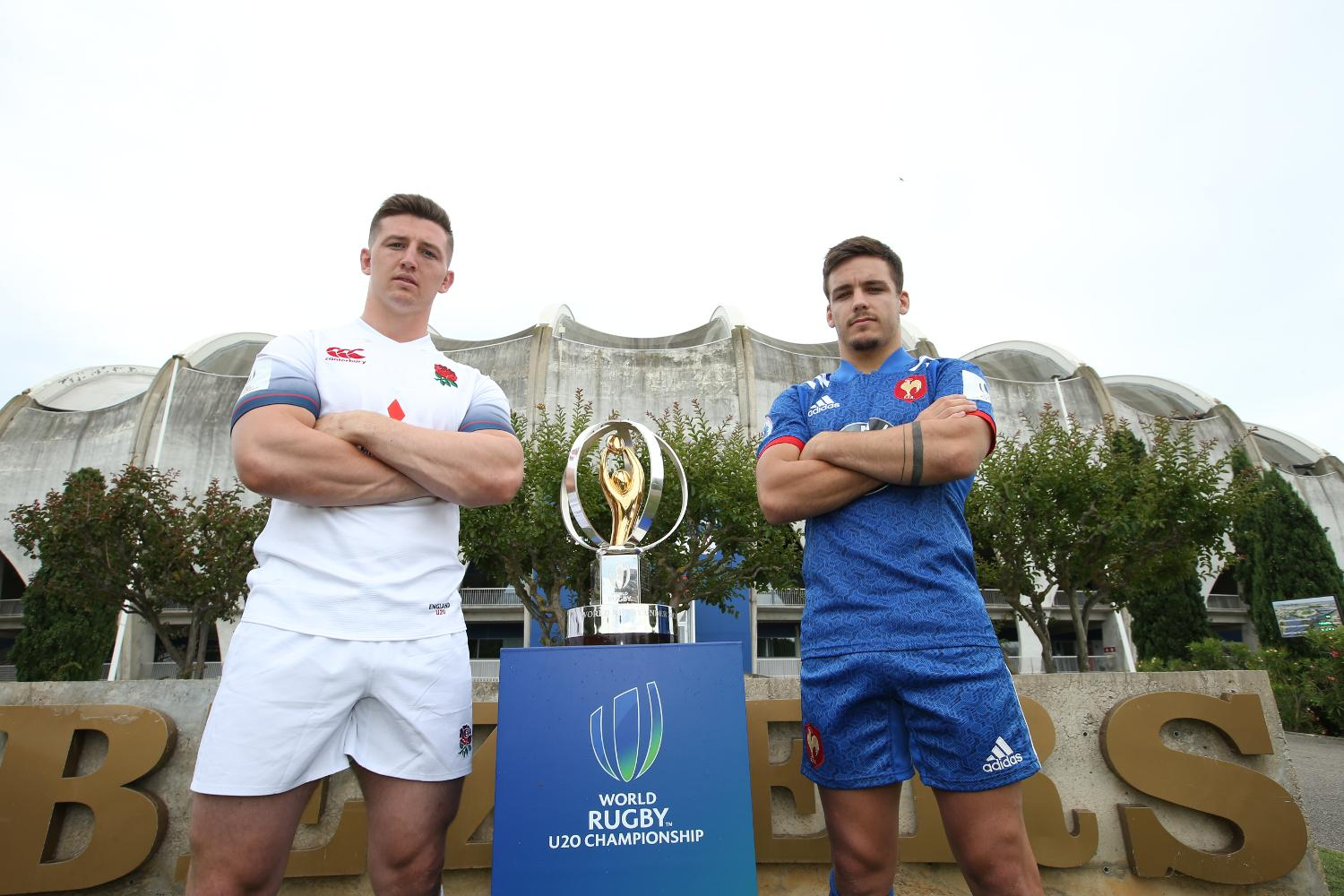 World Rugby U20 Championship 2018 - Final - captains' photocall