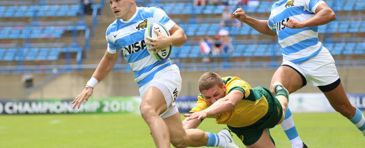 Top 5: Incredible tries from finals day at the World Rugby U20 Championship