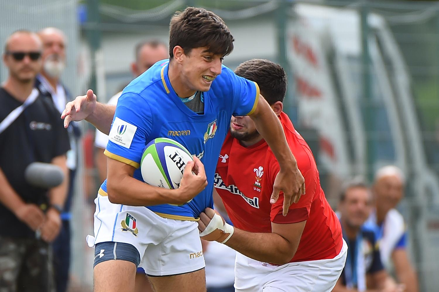 World Rugby U20 Championship 2018: Seventh place play-off - Wales v Italy