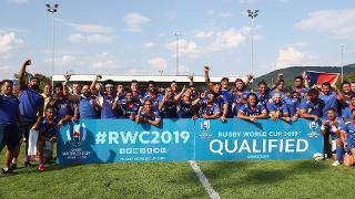 RWC 2019 qualifer - Germany v Samoa