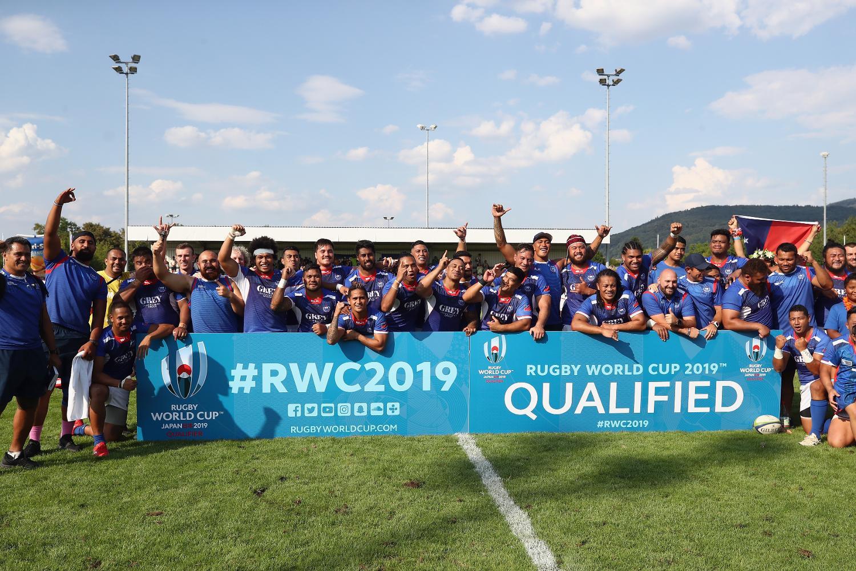 RWC 2019 qualifer - Germany v Samoa