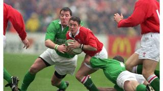 Ireland v Wales sevens Shane Williams Six Nations 2000