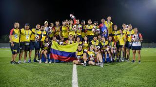 Colombia men's sevens team