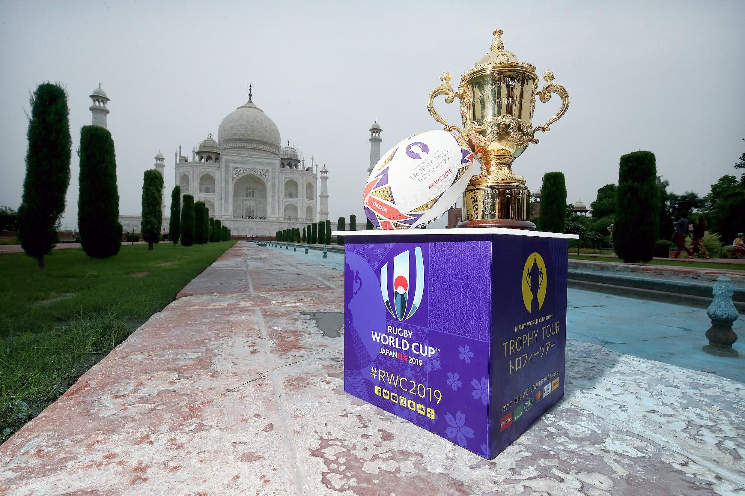 Rugby World Cup 2019 Trophy Tour - India