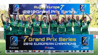 Rugby Europe Grand Prix Sevens Series 2018: Ireland trophy lift