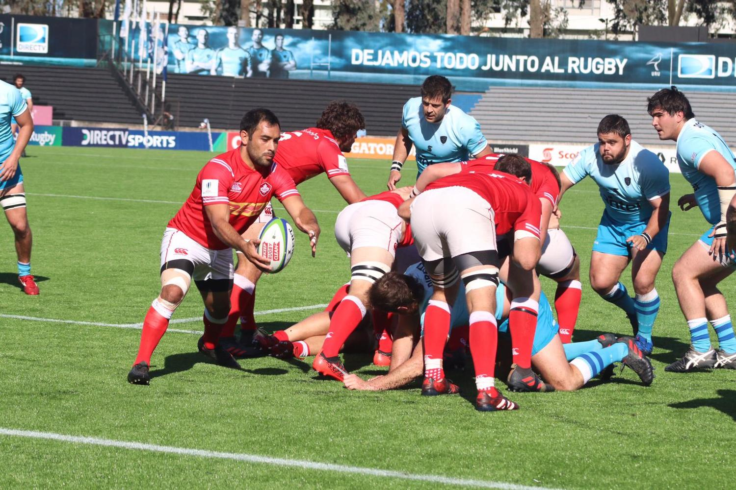 Americas Pacific Challenge 2018 day one:  Uruguay A v Canada A