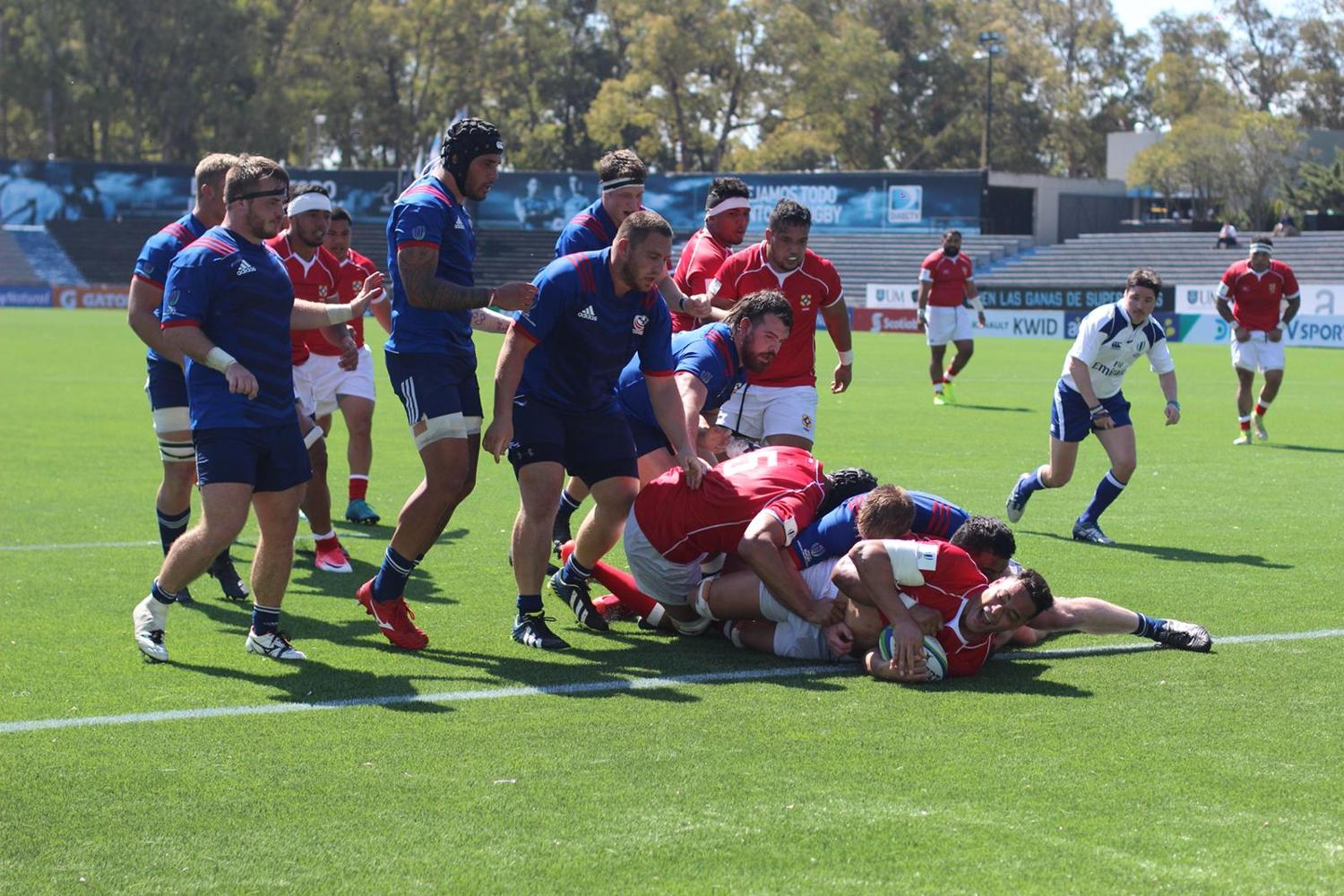 Americas Pacific Challenge 2018 day one: Tonga A v USA Select XV