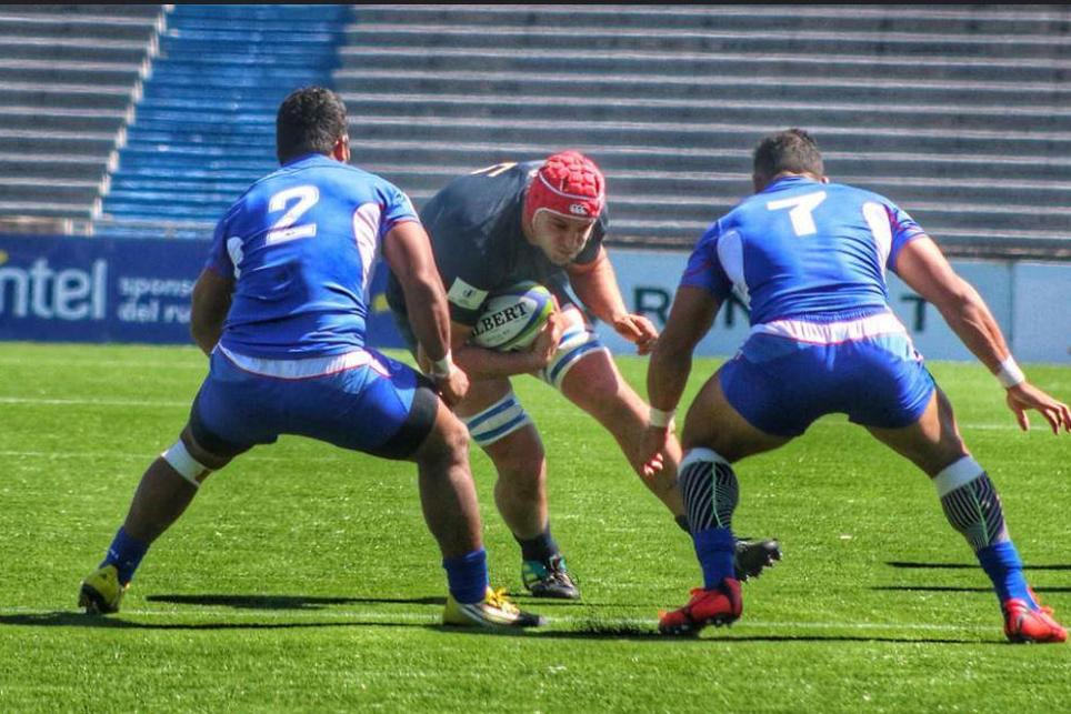 5578a23105b7 Argentina XV finally beaten in entertaining start to Americas Pacific  Challenge
