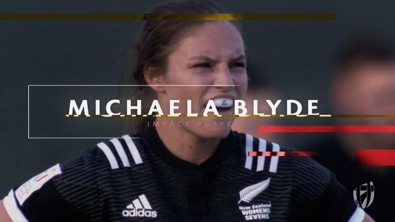 DHL Impact Player: Michaela Blyde